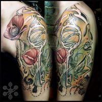 Tattoos - Wizard of Oz Poppies - 127911