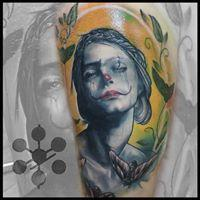 Tattoos - Clown Woman - 127907