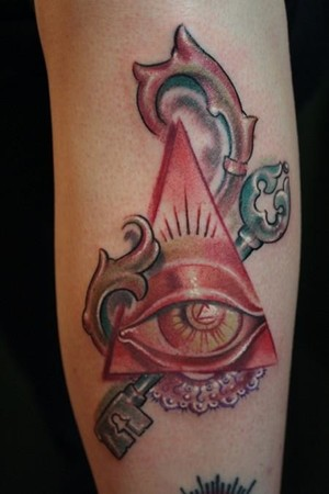 Muriel Zao Illuminati Tattoo