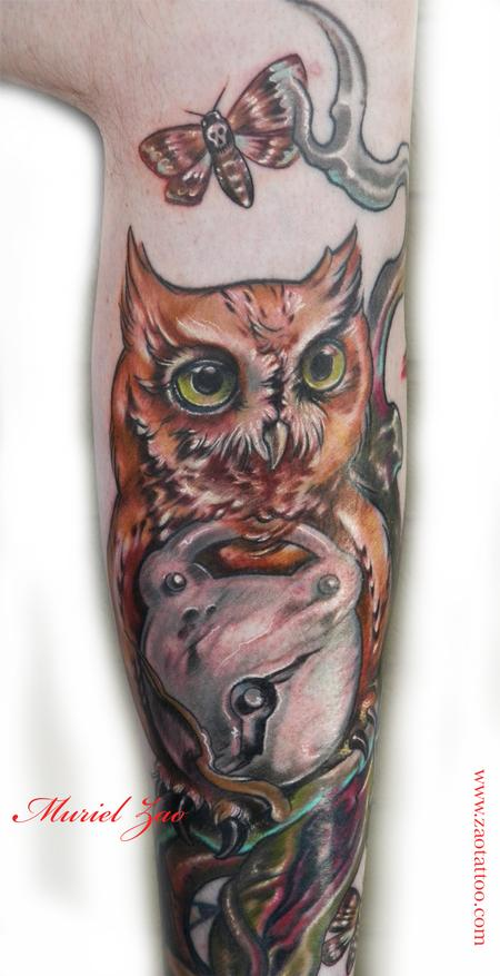 Looking for unique Muriel Zao Tattoos?  Owl Tattoo