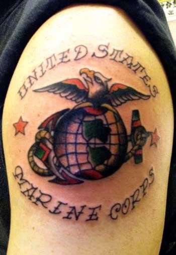 Usmc panther tattoo