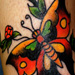 Tattoos - Butterfly - 15376
