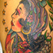 Tattoos - Gypsy girl and Owl - 16016