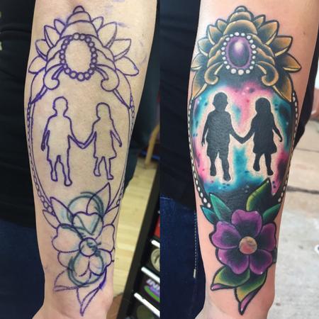 Brother/sister tattoo  Tattoo Design