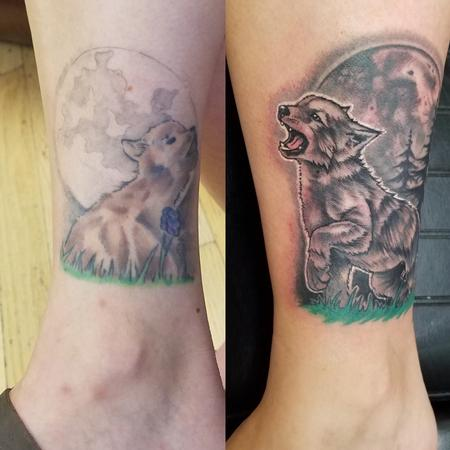 Tattoos - Howling at the moon! - 129998