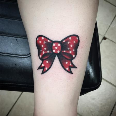 Bow Tattoo Design Thumbnail