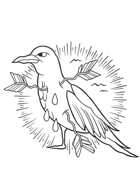 Tattoos - Line drawing - 108396