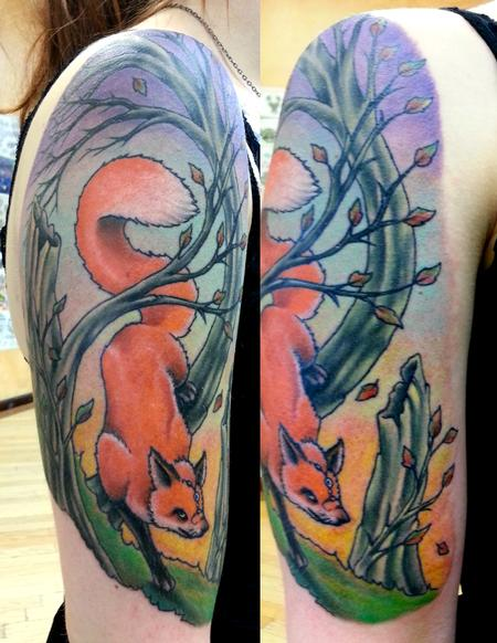 Tattoos - Foxy fox - 109098