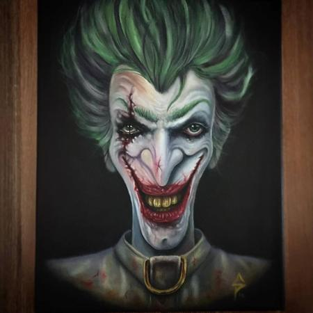 Tattoos - Custom Joker - 125132