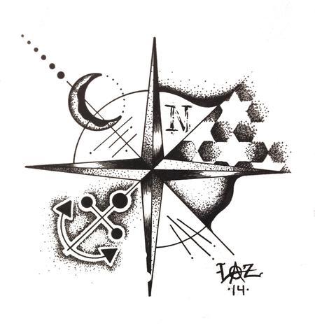 Tattoos - Pointillism - 108398