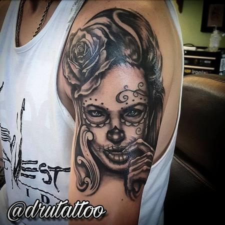 Tattoos - Black and Grey of the Dead - 130242