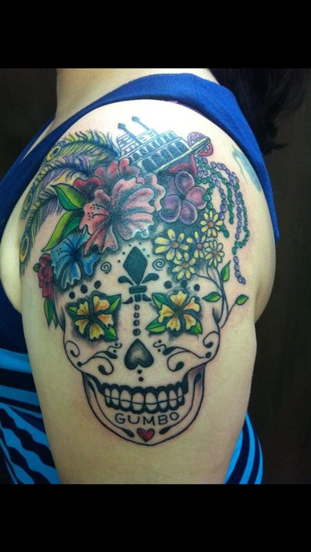 Bad Tattoos - Mississippi Sugar Skull