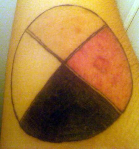 Tattoos - Medicine Wheel Tattoo - 57053