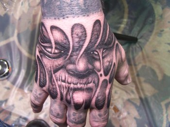 Tattoos - Face Tattoo - 39667