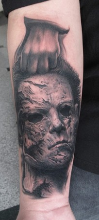 Tattoos - Halloween II - Michael-Myers - 45665