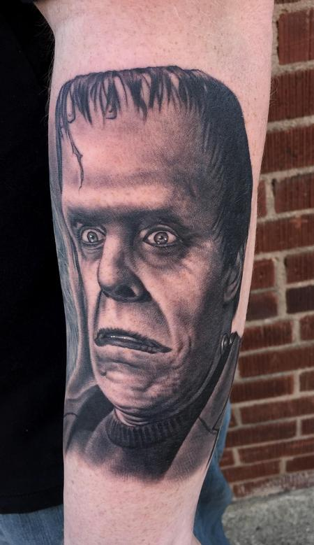 Bob Tyrrell - Frankenstein Monster Tattoo
