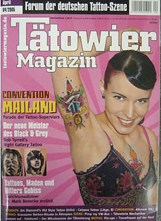 Tattoos - Tatowier Magazin - Germany - 42825