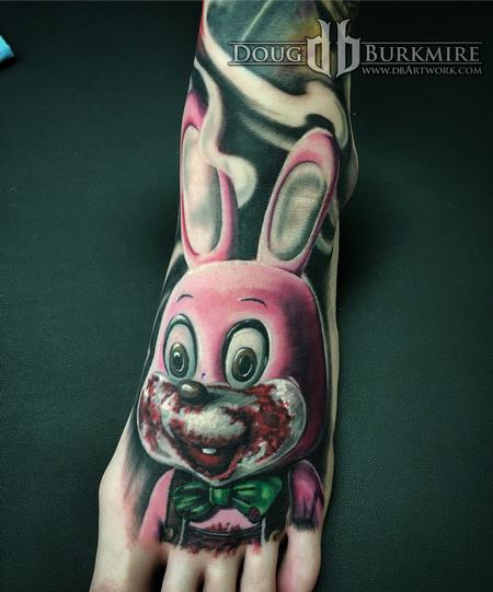 Robbie the Rabbit  Tattoo Design
