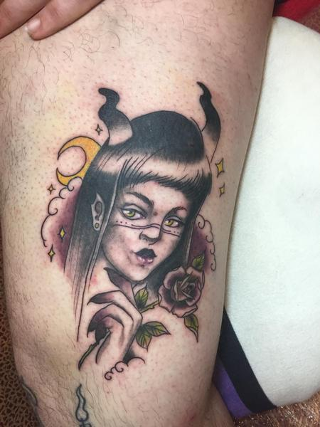 Tattoos - Demon woman tattoo - 133681