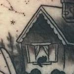 House with hands tattoo Tattoo Design Thumbnail