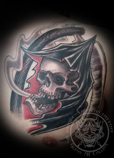 Tattoos - Grim Reaper - 134729
