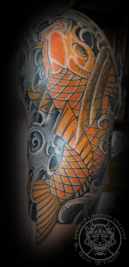 Tattoos - Japanese Koi Fish Tattoo - 136102