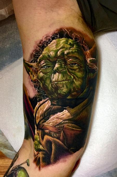Cecil Porter - Yoda Tattoo