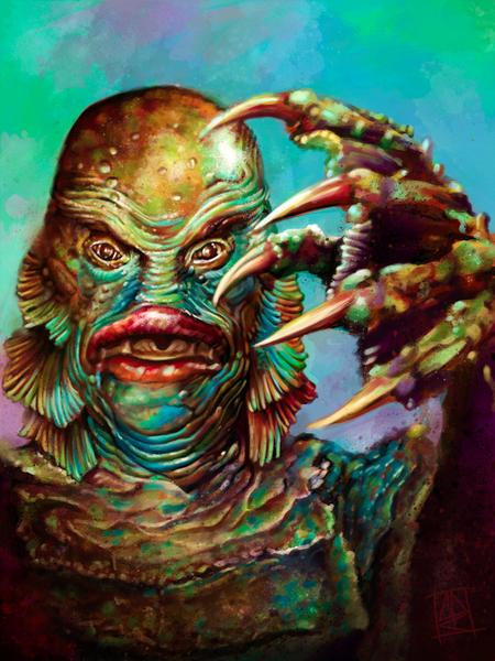 Cecil Porter - The Creature from the black lagoon