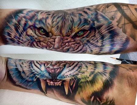 Cecil Porter - tiger