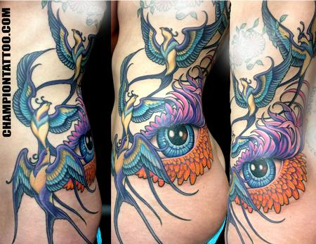 Tattoos - Fantasy Birds - 107852