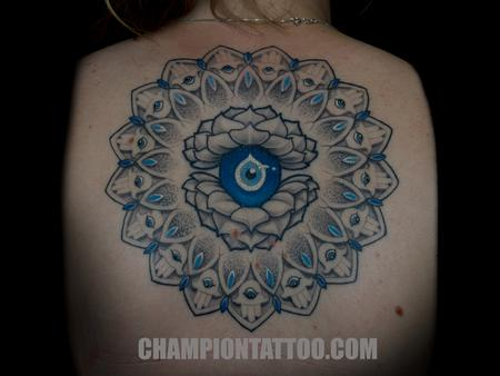 Tattoos - Hansa Mandala - 107941