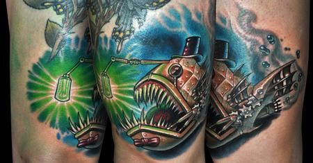 Tattoos - Steam Angler - 125071