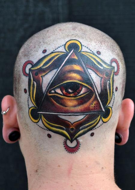 Tattoos - freshen up your dome  - 92206