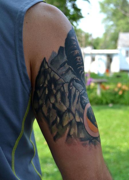 Tattoos - rocky bio scorpion - 93501