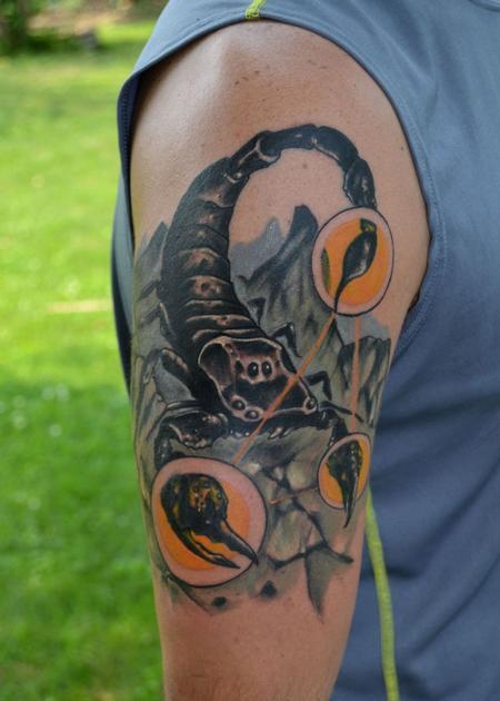 Tattoos - Scorpion 2 - 93499