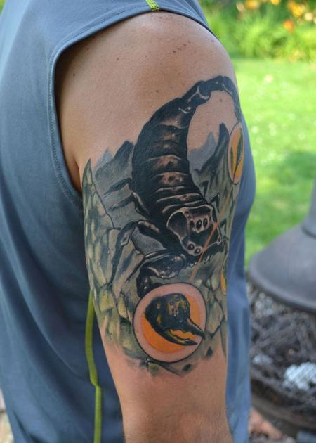Tattoos - Scorpion - 93497