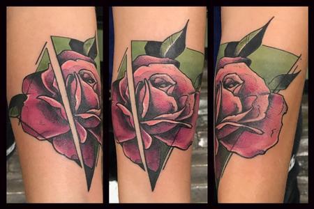 Tattoos - Rose - 124954