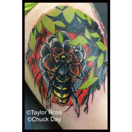 Tattoos - Wasp - 125706