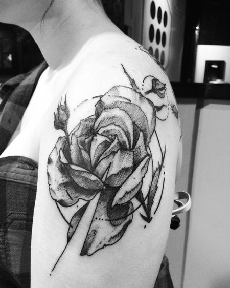 Tattoos - Rose - 127215