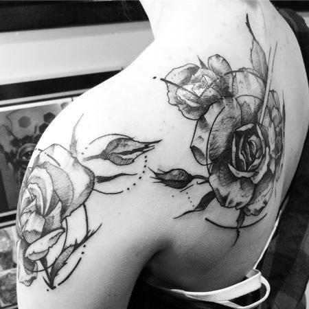 Tattoos - Roses - 127216