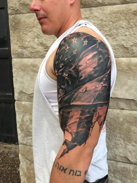Tattoos - Stars and Stripes - 128275