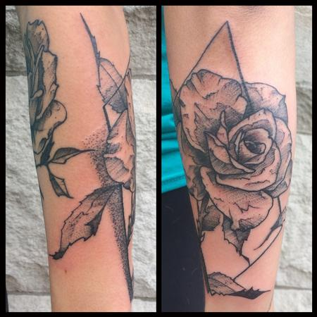 Tattoos - Rose - 129801