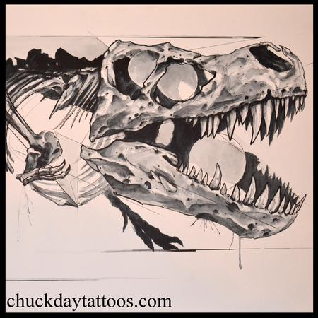 Tattoos - T. Rex detail - 98910