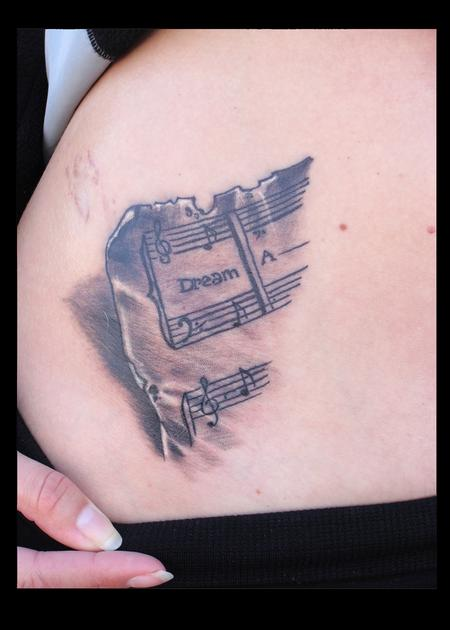 Tattoos - music... - 70521
