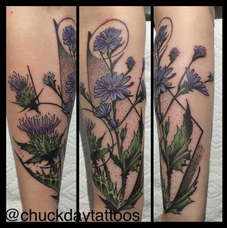 Tattoos - Milk Thistle - 116590