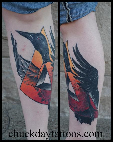 Tattoos - Healed Loon - 88859