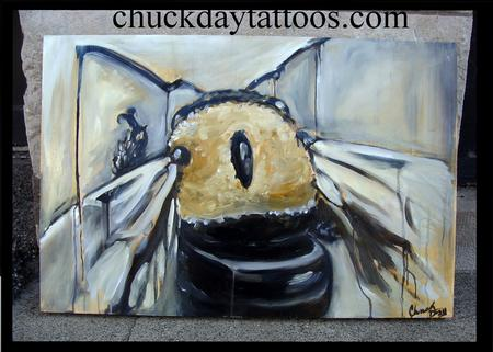 Tattoos - i paint bees - 79532
