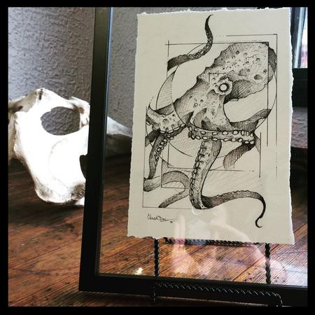 Tattoos - octopus drawing - 112471