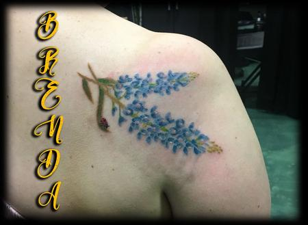 Tattoos - Flower tattoo - 134160