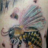 Tattoos - Realistic Bees - 130924
